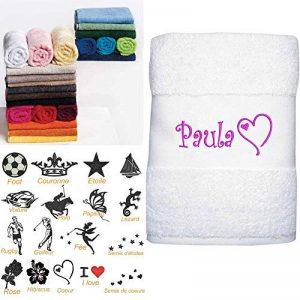 serviette brodée personnalisée bébé TOP 7 image 0 produit