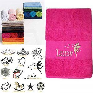 serviette brodée personnalisée bébé TOP 8 image 0 produit