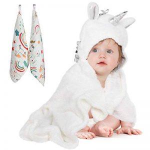 serviette à capuche bébé TOP 14 image 0 produit