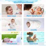 Serviette à capuchon pour bébé, Loori Serviette de Bain Bébé - Serviette 100% Fibre de Bambou pour les Enfants - 90 cm * 90 cm - Nouveau-nés ou Nourrissons Garçons et Filles (Ours) de la marque Loori image 3 produit