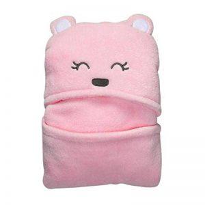 Serviette de bain à capuche et couverture, nouveau-né pour enfant, garçons et filles de la marque BAIYOU image 0 produit
