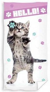 serviette de bain chat TOP 10 image 0 produit
