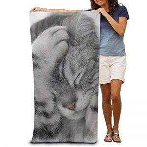 serviette de bain chat TOP 6 image 0 produit