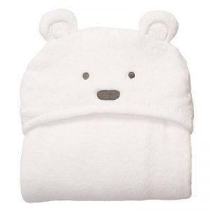 Serviette de bain de bébé, enfants Lovely doux Corail Ours en forme d'éléphant en polaire à capuche bébé Serviette Serviettes de bain, grand format 95* 75cm de la marque GETIT72 image 0 produit