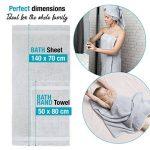 serviette de bain TOP 13 image 2 produit