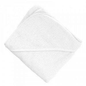 Serviette de bébé en coton à capuche souple de TowelsRus, 100% coton, 76 cm x 76 cm (Blanc) de la marque aztex image 0 produit