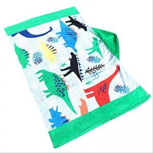 Serviette de plage couverture coton absorbant bébé garçon filles filles serviette serviette de bain serviette de bain piscine Cape Cape toalha de banhoC de la marque qazxd image 0 produit