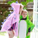 Serviette de plage JYSP à capuche - Serviette respirante - Poncho pour fille et garçon de la marque JYSP image 3 produit