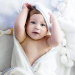Serviette pour bébé avec capuche en bambou bio - Serviettes de bain douces avec capuche et oreilles pour bébés, Tout-petits - Hypoallergénique, Grande serviette. Cadeau idéal pour une naissance de la marque San Francisco Baby image 4 produit