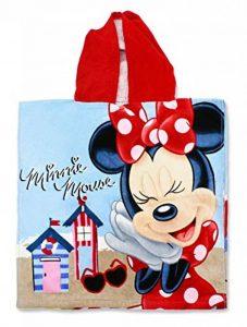 Setino MIN-H-PONCHO-26 Disney Minnie Mouse de Bain pour Enfant avec Capuche 55 x 80 cm de la marque Setino image 0 produit