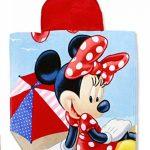 Setino MIN-H-PONCHO-26 Disney Minnie Mouse de Bain pour Enfant avec Capuche 55 x 80 cm de la marque Setino image 1 produit