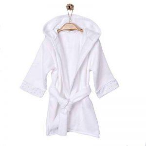 Sevira Kids - Peignoir bébé et enfant à capuche en coton bio GOTS - Twinkle de la marque Sevira-Kids image 0 produit