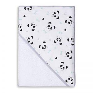 Sevira Kids - Sortie de bain - Cape de bain - Extra Large Coton 400 g/m2 Panda Menthol de la marque Sevira-Kids image 0 produit
