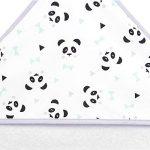 Sevira Kids - Sortie de bain - Cape de bain - Extra Large Coton 400 g/m2 Panda Menthol de la marque Sevira-Kids image 2 produit