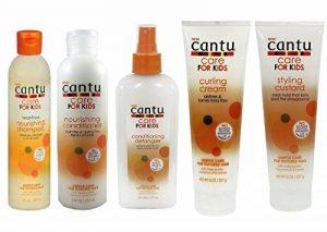 Shampoing, après-shampoing, démêlant, crème de bouclage et crème coiffante Cantu Care for Kids - Soin douceur - Ensemble de 5 de la marque Cantu image 0 produit