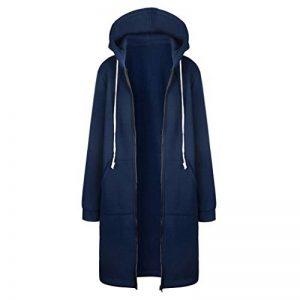 SHOBDW Manteau Femme Hiver Chaud Casual Pullover Blouson Tops Mode, Rouge Gris Rose Bleu,S-XXXXXL de la marque SHOBDW+Manteau image 0 produit