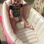 Signstek Baignoire Gonflable, Piscine Gonflable, Bassine pour Enfant et Bébé (Rose) de la marque Signstek image 1 produit