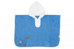 Slumbersac - Poncho/Sortie de bain/Serviette pour enfants 62 x 47 cm - Broderie dinosaure de la marque Slumbersac image 0 produit