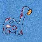 Slumbersac - Poncho/Sortie de bain/Serviette pour enfants 62 x 47 cm - Broderie dinosaure de la marque Slumbersac image 1 produit