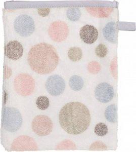 Smithy Gants de Toilette Motif Pois Couleur Multicolore de la marque Smithy by Dagmar Nelk image 0 produit