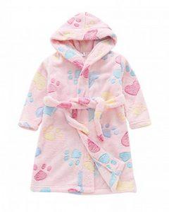 Smoon Enfants Peignoirs de Bain, Robes de Chambres à Capuche - Flanelle Peignoir Vêtement De Nuit - Garçon Fille de la marque Smoon image 0 produit
