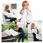 sortie de bain bébé coton bio TOP 1 image 3 produit