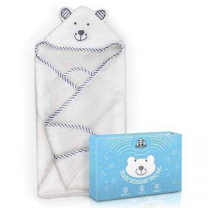 sortie de bain bébé coton bio TOP 10 image 0 produit