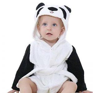 sortie de bain bébé panda TOP 7 image 0 produit