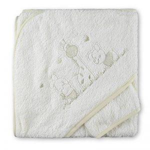 sortie de bain brodée pour bébé TOP 5 image 0 produit