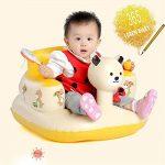 Soulitem Enfants bébé Gonflable Chaise Canapé Siège de Bain Salle à Manger Poussette PVC Infantile Tabouret Portable de Jeu Tapis de Jeu de la marque Soulitem image 3 produit