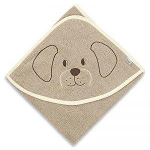 Sterntaler Serviette de bain à capuche Hanno, Âge: à partir de 0 Mois, 100 x 100 cm, Brun de la marque Bellagenda image 0 produit