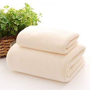 STSJSI Serviette de Bain Serviette de Bain pour Salon de beauté Grande Serviette de lit Serviette de Table de Massage Super absorbante sans Peluche de la marque STSJSI image 0 produit