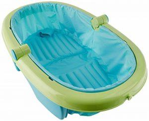Summer Infant Baignoire Bébé Pliable Verte Bleu/Vert de la marque Summer-Infant image 0 produit