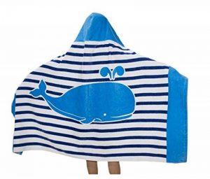 Superwinger Drap de bain façon poncho avec capuche pour enfant, idéal pour la plage, pour fille ou garçon de la marque Superwinger image 0 produit