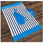Superwinger Drap de bain façon poncho avec capuche pour enfant, idéal pour la plage, pour fille ou garçon de la marque Superwinger image 2 produit