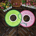 Supvox Bonnet de Douche Bébé Shampooing Bain Visière Bouclier Oreille de Bain Réglable Protéger (Rose) de la marque Supvox image 1 produit