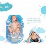 Tapis de bain pour nourrisson bébé, 4EVERHOPE flottant coussin de bain pour nourrisson/chaise longue nouveau-né (Bleu) de la marque 4EVERHOPE image 1 produit