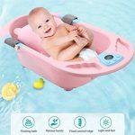 Tapis de bain pour nourrisson bébé, flottant coussin de bain pour nourrisson/chaise longue nouveau-né de la marque BAIHUODRESS image 1 produit
