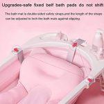 Tapis de bain pour nourrisson bébé, flottant coussin de bain pour nourrisson/chaise longue nouveau-né de la marque BAIHUODRESS image 4 produit