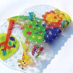 Tapis de Bébé Baignoire de Bain de Antidérapant Anti Glisse 39 X 69CM (Zoo) de la marque LLRY image 1 produit