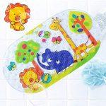 Tapis de Bébé Baignoire de Bain de Antidérapant Anti Glisse 39 X 69CM (Zoo) de la marque LLRY image 3 produit