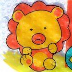 Tapis de Bébé Baignoire de Bain de Antidérapant Anti Glisse 39 X 69CM (Zoo) de la marque LLRY image 4 produit
