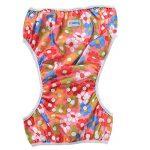 Teamoy Couches de bain lavables pour Bébé (2 Paquets) Pantalon de Couche en Tissu pour Garçons et Filles, Fleurs Rose + Eléphants de la marque Teamoy image 1 produit