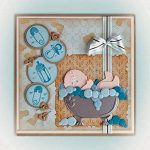 Teenxful Bluelans Coupe Dies Dessin animé bébé Baignoire en métal gaufrage Pochoir Modèle de moule pour DIY Album de scrapbooking papier Fabrication de cartes Baby Shower Art Craft Decor de la marque Bluelanss image 3 produit
