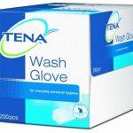 Tena - Wash Gloves - 200 gants de toilette jetables de la marque TENA image 2 produit