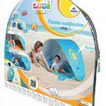 Tente et piscine pop-up par Ludi | en tissu avec protection UV 50 – dès 10 mois – tente composée d'une piscine et d'un auvent | Piscine de plage - 2206 (serviette pas inclus) de la marque Ludi image 4 produit