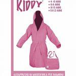 Tex Family Peignoir technique Kiddy en microfibre rose, pour enfant, 10-12ans de la marque tex-family image 2 produit