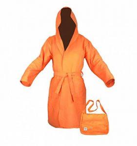 tex family Peignoir Technique Kiddy Enfant Enfant en Microfibre Orange pour garçon–10–12Ans de la marque tex-family image 0 produit