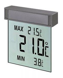 """TFA-Dostmann 30.1025""""Vision/Thermomètre de fenêtre Digital de la marque TFA-Dostmann image 0 produit"""