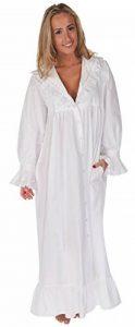 The 1 for U 100% Cotton Style Victorien Nightgown/Robe de Chambre Amelia XS-XXXXL de la marque Inconnu image 0 produit